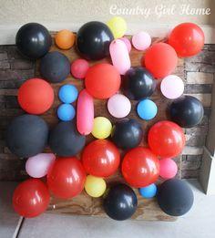 NINJAGO balloon/dart game