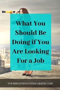 a New Job: What You Should Be Doing If you are uncertain as to what you should be doing to find your new job, start with these three things.If you are uncertain as to what you should be doing to find your new job, start with these three things. Job Career, Career Planning, Career Advice, Career Coach, Career Change, Job Interview Questions, Job Interview Tips, Job Interviews, Finding A New Job