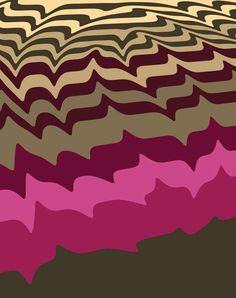 Groovy Graphic Textiles | Mark Payne