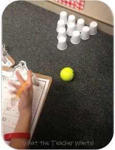 subtraction bowling!This could easily work as a Whole Group game. Have everyone sit in a circle and take turns going. Everyone could have a clipboard with the paper to work as they wait.