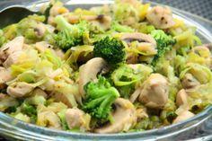 Dietetyczny gulasz z kurczaka z brokułami
