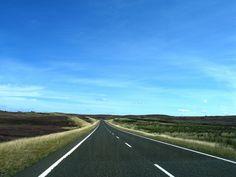 Single Track Road in Scotland