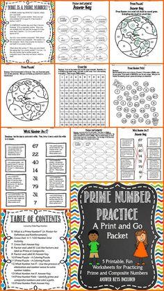 Multiplication Worksheets---Seasonal Review Packet ...