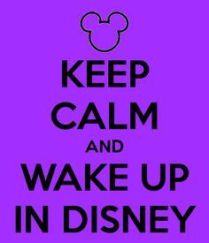 Wake up in Disney!