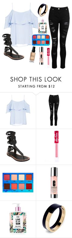 """Cute triumph"" by wickedcitrine ❤ liked on Polyvore featuring BB Dakota, Dorothy Perkins, Isabel Marant, Lime Crime, Clinique, Marni and Bobbi Brown Cosmetics"