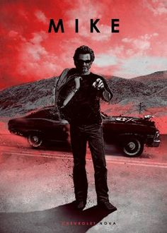 Metal plate prints by Displate displaying famous drivers from films with their cars.