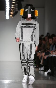 Going out in a sweatsuit becomes perfectly acceptable when you have a bucket over your head.   21 Things Every Man Needs To Know Before Getting Dressed NextSpring
