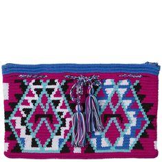 comprar clutch wayuu en madrid, bolso wayuu, bolso hecho a mano, bolso…