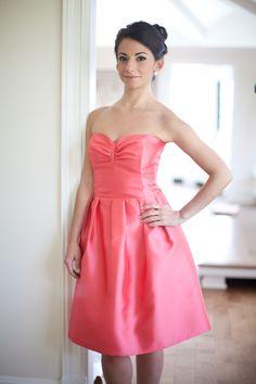 Dress: Nolan, coral gazar Photographer: Jacqueline Patton