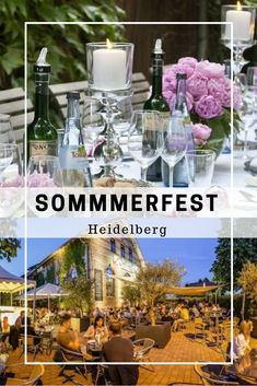Top 20 Locations für Sommerfeste in Heidelberg