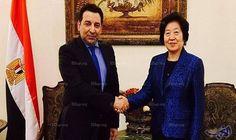 """وصول نائبة رئيس الوزراء الصيني إلى القاهرة للقاء """"السيسي"""""""