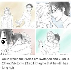Omg I needed this. Confident Yuri and freaking adorable Viktor...