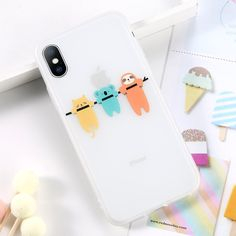 Moskado Soft Transparent Matte Phone Case for Iphone XS XR X Cute Cat Animal Image Case Cover for Iphone 8 7 6 6s Plus Outfit Accessories From Touchy Style | Animal, Cute Phone Cases, iPhone 5, iPhone 5S, iPhone 6, iPhone 6 Plus, iPhone 6s, iPhone 7, iPhone 7 Plus, iPhone 8, iPhone Cases, iPhone SE, iPhone XS, iPhone XS MAX. | Free International Shipping.