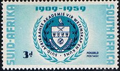 South Africa 1959 Academy of Science Fine Mint SG 169 Scott 219 Other South African Stamps HERE
