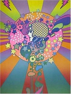 #Peter #Max - I love Peter Max!  I have two of his old poster books given to me by my parents.