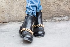 On the streets of Paris. givenchy boots