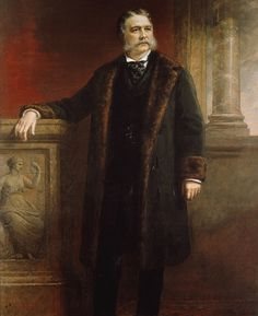 """President Chester Alan Arthur: today Oct 1829 the U. President Chester A. Arthur """"Elegant Arthur"""" was born. """"Since I came here I have learned that Chester A. Arthur is one man and."""
