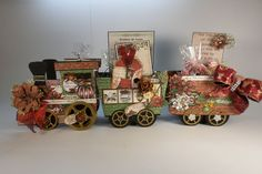 TPHH SHELLIE - HOLIDAY SPIRIT TRAIN  HEARTFELT CREATIONS FESTIVE CHRISTMAS #HEARTFELTCREATIONS