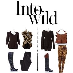 """Your Wild Side"" by Burlington on Polyvore"
