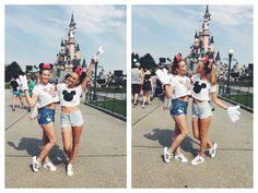 Friends in Disneyland Paris