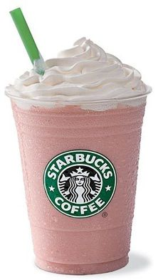 of course my fav starbucks drink is pink!