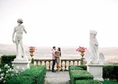 Florence proposal in Belmond Villa San Michele Italy Wedding, Amalfi, Proposal, Florence, Garden Sculpture, Destination Wedding, Villa, San, Fine Art