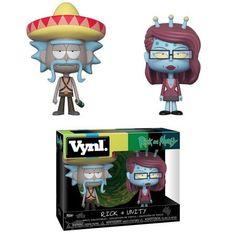 Figuras Vynl Rick and Morty Rick Sombrero and Unity € Figura vinilo Funko  Vynl de en caja regalo. b7779560e29