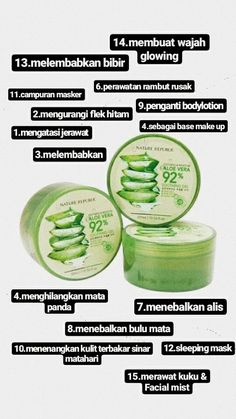 Manfaat Nature republic untuk wajah Natural Beauty Tips, Health And Beauty Tips, Nature Republic Aloe Vera, Skincare For Oily Skin, Aloe Vera Skin Care, Facial Wash, Skin Cream, Skin Makeup, Beauty Skin