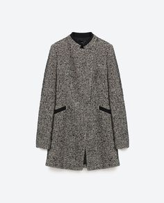Image 8 of CROSSOVER FROCK COAT from Zara