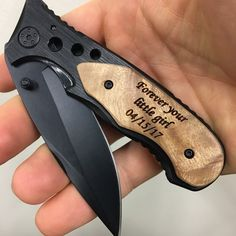 Forever your little girl engraved knife, father daughter gift, father of the bride gift, gift for dad from daughter, grandfather gift