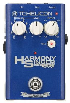 TC Helicon 996361011 Harmony Singer You've perfected your guitar tone. Now it's time to focus on your vocals. Harmony Singer is the perfect partner for that - Reverb Pedal, Dj Gear, Look Good Feel Good, One With Nature, Easy Piano, Piano Music, Coloring Books, Musicals, Singing
