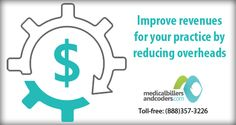 Improve revenues for your practice by reducing overheads http://www.medicalbillersandcoders.com/revenue-management-services.aspx