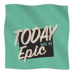 East Urban Home 'Epic Day' By Juan Paolo Fleece Blanket Size: