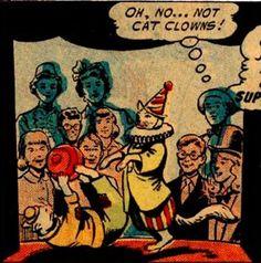Yes!! Cat clowns!
