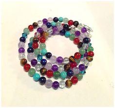 Mala love! Colorful!!!! :) bliss jewels