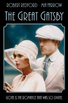 Dana - this is another good one with Mia Farrow that we should watch. Not as creepy as Rosemary's Baby but still weird and GOOD! The Great Gatsby 1974