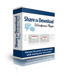 FREE: Share To Download Wp Plugin- This Amazing Plugin Will Help You Gain More Followers, Build Your List Faster, and Even Impress the Search Engines!