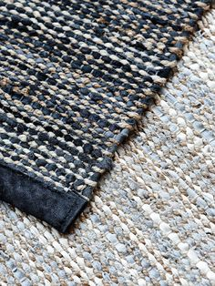Slow Design, Sustainable Products, Tapis Design, Jute Rug, Recycled Materials, Upcycle, Recycling, France, Rugs