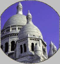 La Basilique du Sacré Coeur de Montmartre (35 Rue du Chevalier de la Barre):  Find information on service times here.