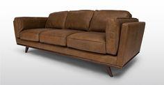 Timber Oxford Tan Sofa - Sofas - Article | Modern, Mid-Century and Scandinavian Furniture 1800