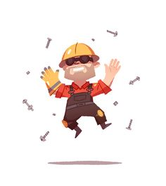 TF2 Engineer by Anneka Tran, via Flickr
