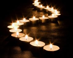 how to take candle pictures