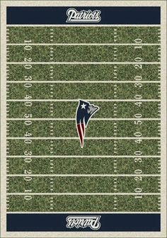 New England Patriots Field 1057 - NFL Milliken Rugs | Rugs by http://etsy.me/1LhWFG4 $109.00 #patriots #nfl #rugs