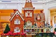 The Gingerbread House from the Grand Floridian, it's amazing. (Not my favorite hotel, but one of my favorite things to see at Christmas.)