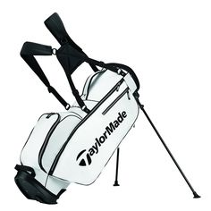 Golf Bag     TaylorMade 2017 TM Stand Golf Bag White Black     See the  photo link even more details. 0aa934dabad5