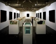 D. Hirst; Cancer Chronicles/Jesus and the Disciples; 1994--2004 Irony; spatial arrangement; despair