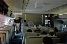 dc-10 | Cabin view of an old Northwest Orient DC-10-40 while… | Flickr