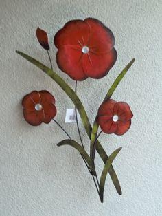 maki kwiaty ozdoba na sciane
