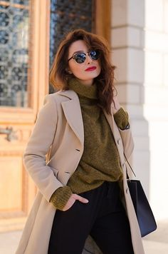 Cristina Feather - - Camel coat
