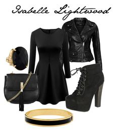 """""""Isabelle Lightwood"""" by elizabethsthename on Polyvore featuring VIPARO, Breckelle's, Topshop and Halcyon Days"""